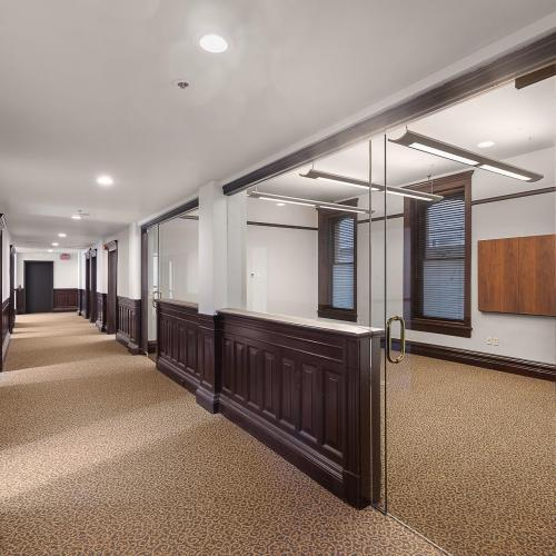 Interior of Gilbert Building