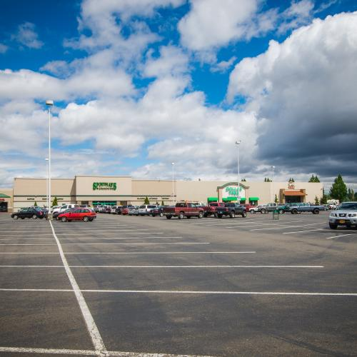 Lancaster Marketplace has excellent parking ratios and many nearby retailers, making it the perfect place to setup shop!